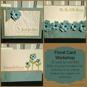 floral card workshop