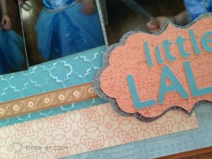 little lala layout close up
