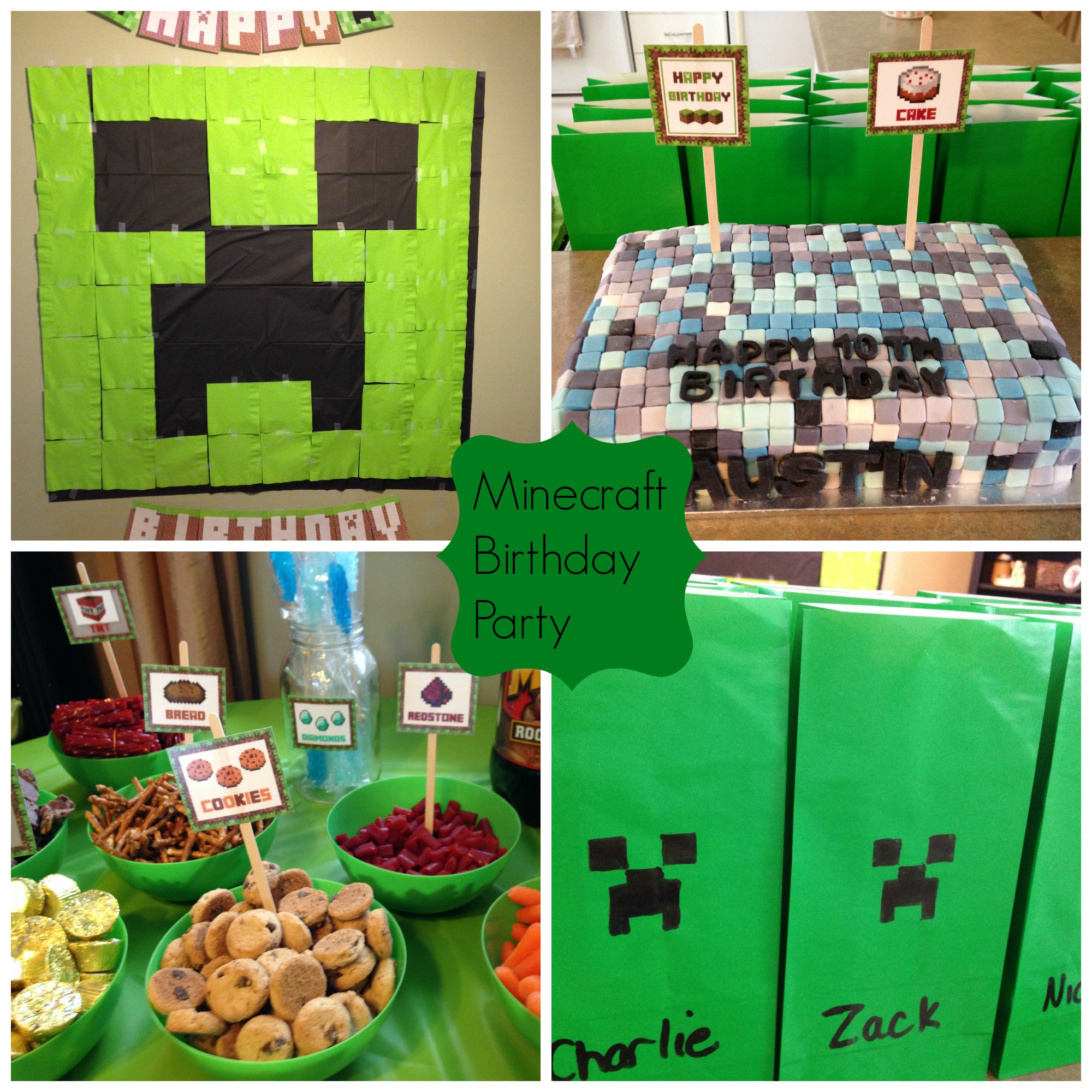 Minecraft Party Invitations is great invitation layout