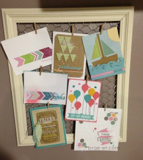 decor frame card display