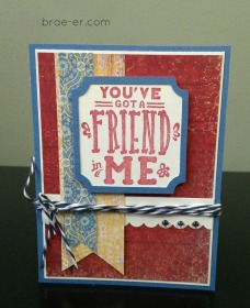jubilee friend card