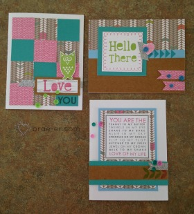 lollydoodle card workshop