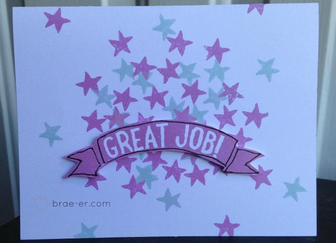 great job card