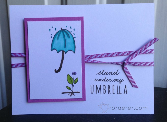umbrella card