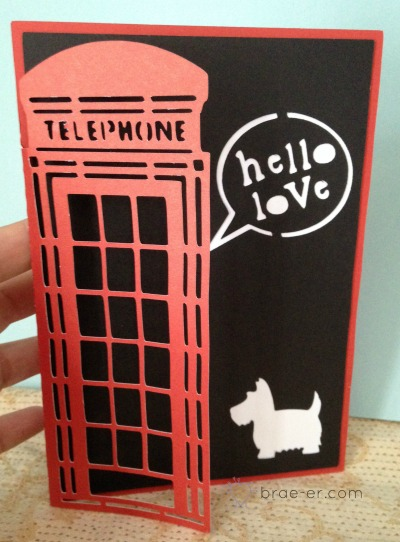 artfully sent phone booth card