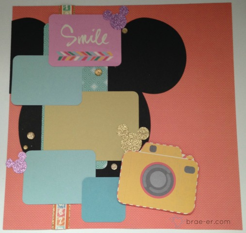 mickey smile layout