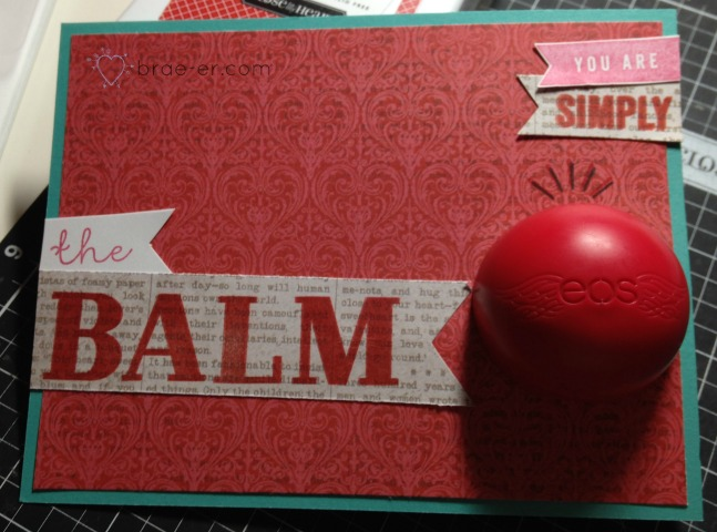 you're the balm card