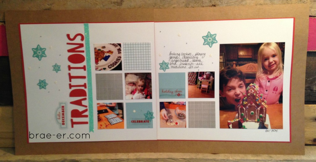 zoe christmas layout