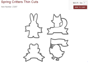springtime thin cuts