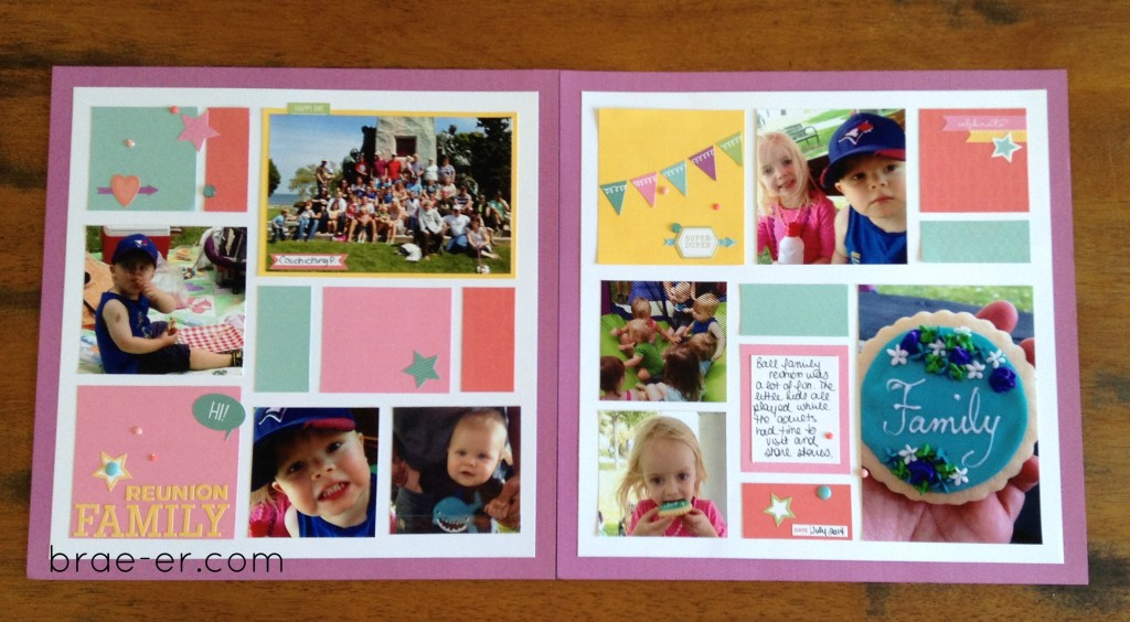 cardstock layout