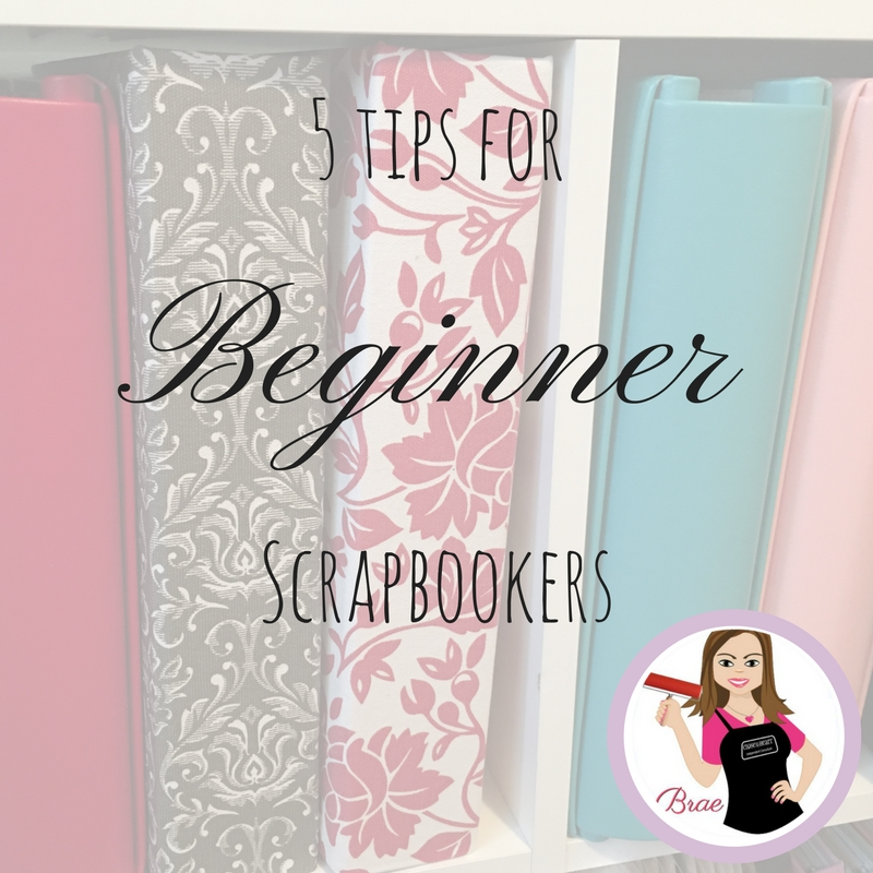 5 tips forScrapbookers